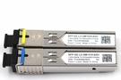 單模單纖 SC 光纖傳輸模組 SFP 1.25G 5KM (一對2支)