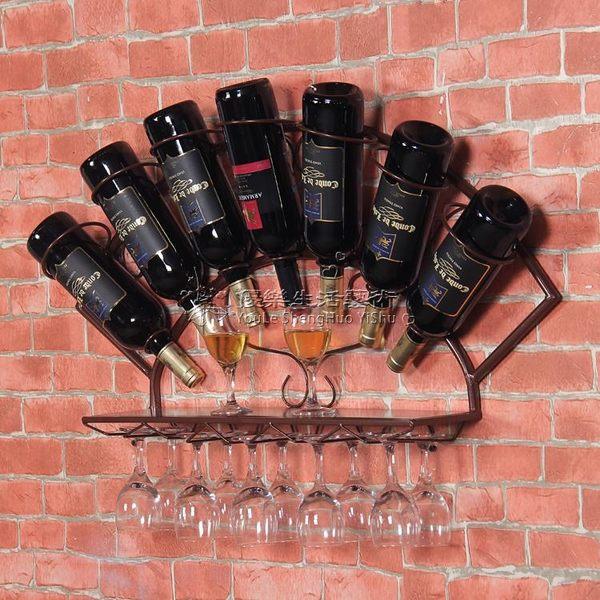 懸掛壁掛式紅酒架 YL-SNYP132