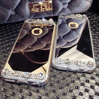 note5手機殼 奢華 鏡面 水鑽 note 5 手機殼 手機套 保護殼 矽膠 鏡面 s6 edge 華麗