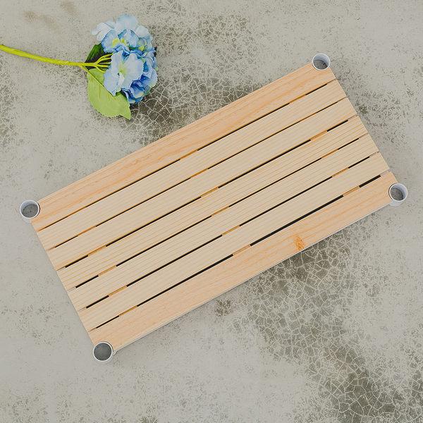 收納架/置物架/隔層【配件類】60X30公分 松木層板_烤漆白  dayneeds