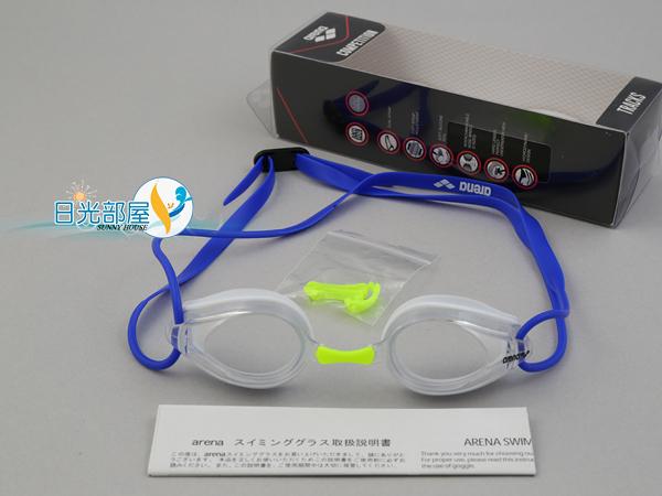 *日光部屋* arena (公司貨)/AGG-270-WHT 競泳/訓練/小鏡面泳鏡