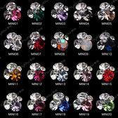【限時下殺89折】10個隨機美甲鑽飾品 mini堆鑽指甲鑽石貼鑽飾水鑽彩鑽好康推薦新款裝飾品