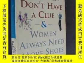 二手書博民逛書店Why罕見Men Don t Have a Clue and