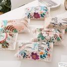 可愛動物兔子紙巾盒車載抽紙盒家居餐巾收納盒亞麻棉麻布藝 歐韓時代