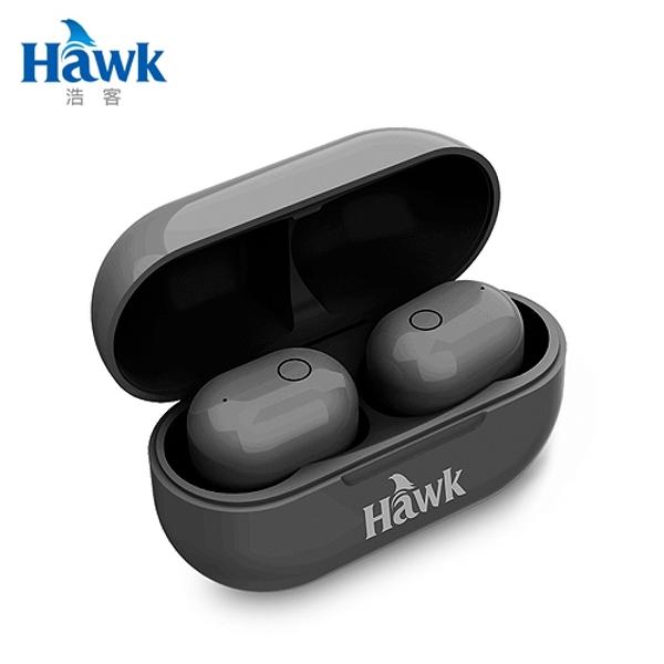 【Hawk 浩客】W768 真無線耳機(黑)