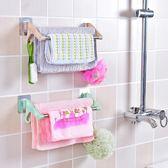 置物架 北歐風不鏽鋼多功能毛巾架 廚房浴室 【CUA007】123OK