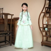 熊孩子❤六一兒童節古裝民國小姐裝(綠色)定制不退
