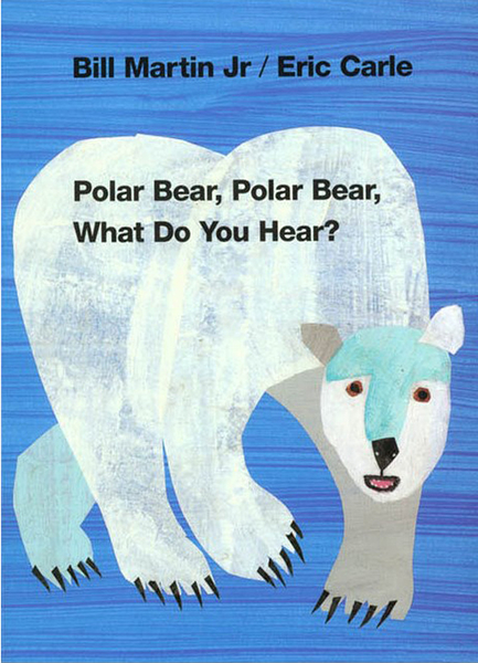 【麥克書店】POLAR BEAR, POLAR BEAR, WHAT DO YOU HEAR? /硬頁書《 Eric Carle》