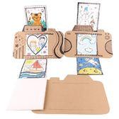 【BlueCat】兒童DIY手作小小攝影師拍立得卡片 材料包