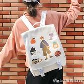 日系少女書包女學生韓版2020新款雙肩包高中學生校園森系可愛背包 開春特惠