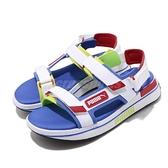 Puma 涼拖鞋 Future Rider Sandal Game On 白 彩色 男鞋 女鞋 涼鞋 魔鬼氈【ACS】 37196402