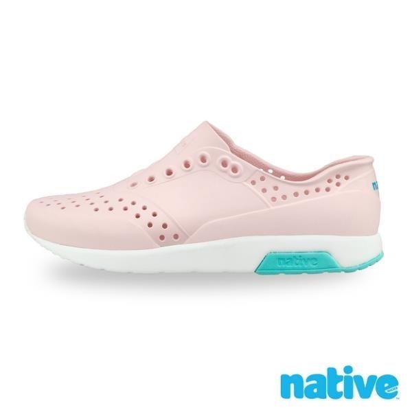 【南紡購物中心】【native】LENNOX 男/女鞋-牛奶粉x貝殼白x湖水綠