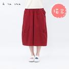 a la sha 烏龍阿財大圓圈緹織褲裙...