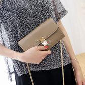 長款手拿包 包包女新款韓版女士錢包長款手拿包單肩斜背包手機 俏女孩