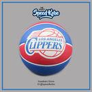 SPALDING 籃球 NBA 快艇 隊徽 紅藍 室外 7號球 SPA83155【SP】