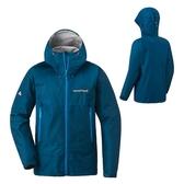 [好也戶外]mont-bell Rain Dancer Jacket女款連帽風雨衣/鈷藍 No.1128619-SLBL