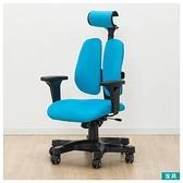 ◎電腦椅 事務椅 辦公椅 DUOREST DX BL NITORI宜得利家居