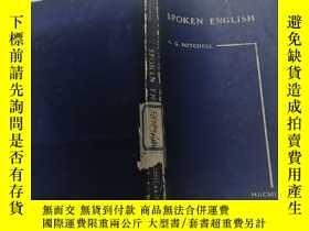 二手書博民逛書店SPOKEN罕見ENGLISH(英語口語)外文版Y200392