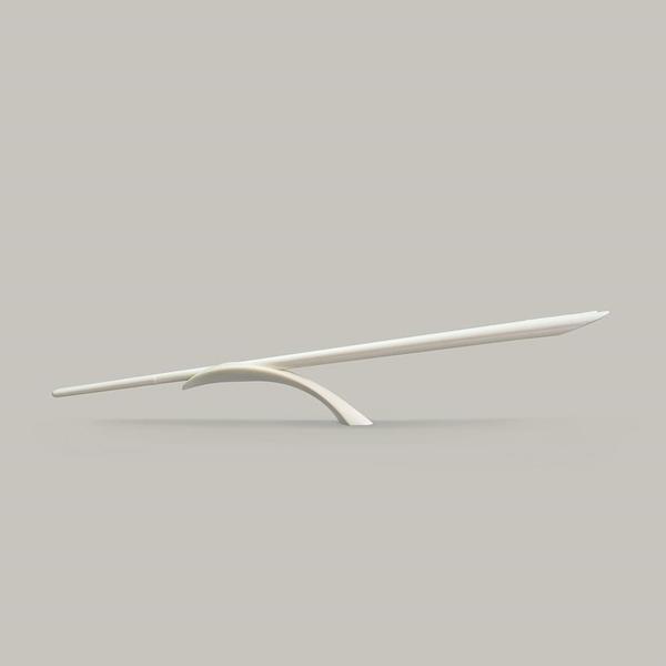 【南紡購物中心】GeckoDesign Balanced 平衡箸筷架組_簡約米白