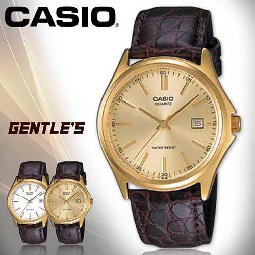 CASIO手錶專賣店 卡西歐  MTP-1183Q-9A  男錶 強力防刮礦物玻璃  日常生活防水 真皮錶帶