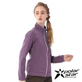 【PolarStar】女 內刷毛保暖外套『褐紫』P20206 上衣 休閒 戶外 登山 冬季 保暖 禦寒 保暖