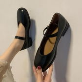 瑪麗珍鞋 春新款小皮鞋女日系可愛圓頭Lolita娃娃鞋復古粗跟瑪麗珍鞋女 瑪麗蘇