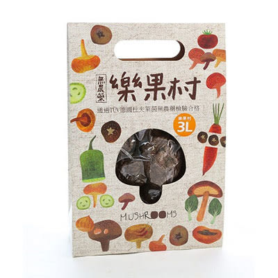 樂果村 有機乾冬菇(乾香菇)70g   12盒 營養豐富 濃厚香郁 台灣產地直銷