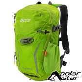 【PolarStar】休閒背包20L『蘋果綠』露營.戶外.旅遊.自助旅行.多隔間.登山背包.後背包.肩背包 P17802