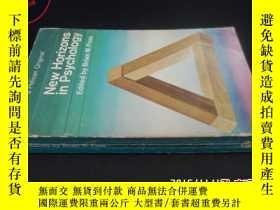 二手書博民逛書店New罕見Horizons in psychology5919