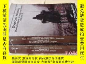 二手書博民逛書店包罕見Sherlock Holmes:The Complete