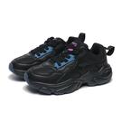 KANGAROOS 休閒鞋 SWING 黑 皮革 復古 厚底 老爹鞋 女 (布魯克林) KW01180