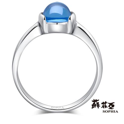 蘇菲亞SOPHIA - 玩美寶石系列 藍黃玉寶石戒指