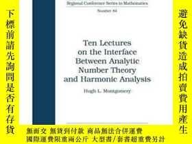二手書博民逛書店Ten罕見Lectures On The Interface Between Analytic Number Th