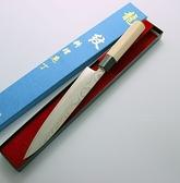 龍紋沙西米刀/生魚片刀210mm-花紋鋼木柄(A00096) 本賣場為210mm,另有240mm、270mm、300mm可選擇