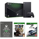 XBOX Series X 台灣專用機+Game Pass+XB1 極限競速7+XB1 七龍珠異戰2