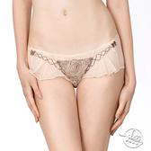 LADY 玫瑰圓舞曲系列 低腰平口內褲(亮金膚)
