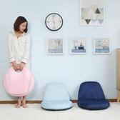 懶人沙發 椅單人小兒童椅子臥室迷你折疊榻榻米床上靠背椅 - 夢藝家