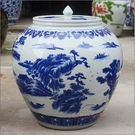 景德鎮陶瓷器米缸 50斤...