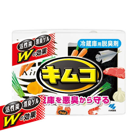 日本 小林製藥 冷藏庫除臭劑 113g 活性炭 冰箱除臭 消臭劑 脫臭 金克臭炭 Kimco