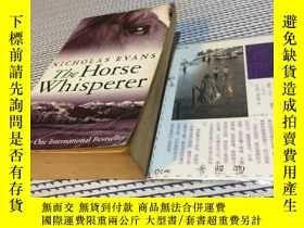 二手書博民逛書店英文原版罕見the horse whispererY181828