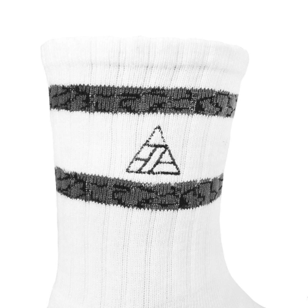 PUMP306 Cement Icon Crew Socks 男女皆可 白底 爆裂紋 襪子 【PUMP306】 SXM00-001