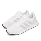 adidas 休閒鞋 Swift Run RF W 白 灰 女鞋 小白鞋 運動鞋 【PUMP306】 FW1647
