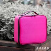 化妝箱 大容量多功能簡約便攜旅行化妝箱專業手提化妝師跟妝包 QX4951『愛尚生活館』