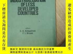 二手書博民逛書店the罕見industrialisation of less development countries(京)國內