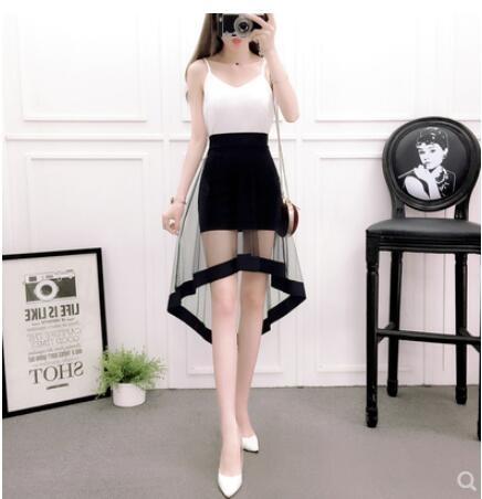 包臀裙 短裙性感緊身包裙小擺裙短裙性感半身裙高腰半身裙2019 莎瓦迪卡