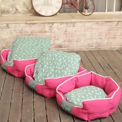 貓狗窩附墊-篷鬆柔軟舒適亮彩寵物床3色72ao22【時尚巴黎】