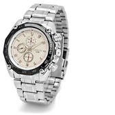 手錶 商務錶 時刻指針錶 鋼帶腕錶 潮男錶【非凡商品】w38