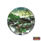 【收藏天地】台灣紀念品*水晶玻璃球冰箱貼-九份
