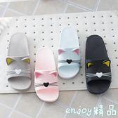 室內防滑可愛韓國浴室居家底涼拖鞋