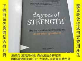 二手書博民逛書店degrees罕見of STRENGTHY164178 degr